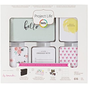 Becky Higgins American Crafts Project Life FRESH Edition Core Kit 380697
