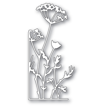 Memory Box TALL UMBELS LEFT CORNER Craft Die 99673