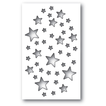 Memory Box SHIMMER STAR COLLAGE Craft Die 99696