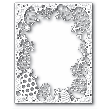 Memory Box EASTER EGGSTRAVAGANZA FRAME Craft Die 99702