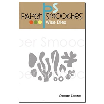 Paper Smooches OCEAN SCENE Wise Die J1D364