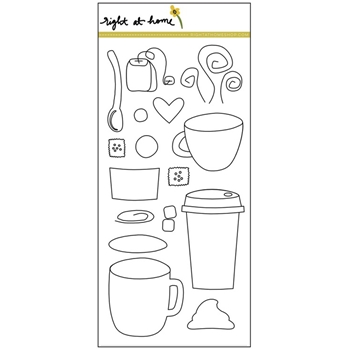 Right At Home CUP OF JOY Clear Stamp 688586