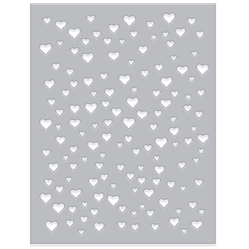 Hero Arts HEART CONFETTI Fancy Die DI348
