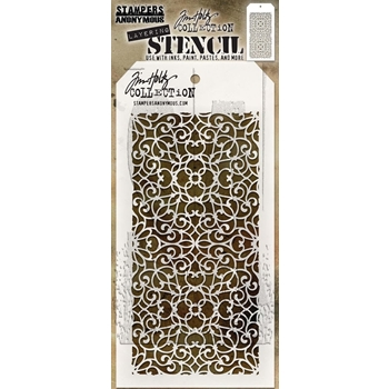 Tim Holtz Layering Stencil ORNATE THS076