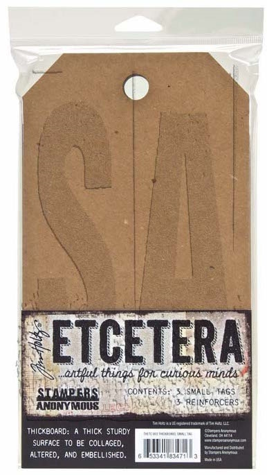 Tim Holtz Etcetera SMALL TAG Thickboards THETC-003 zoom image