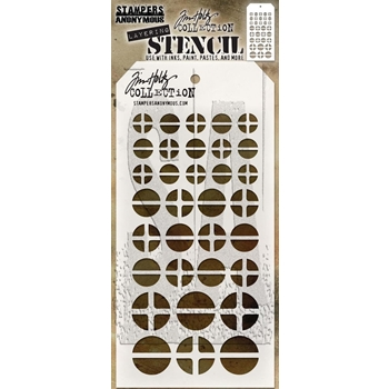 Tim Holtz Layering Stencil SCREWED THS087