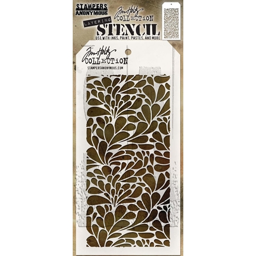 Tim Holtz Layering Stencil SPLASH THS080 Preview Image