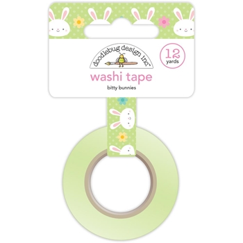 Doodlebug BITTY BUNNIES Washi Tape Easter Express 5467