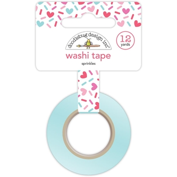 Doodlebug SPRINKLES Washi Tape Cream and Sugar 5463