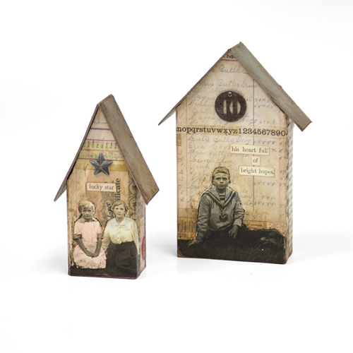 Tim Holtz Sizzix Die TINY HOUSES Bigz L 661819 Preview Image