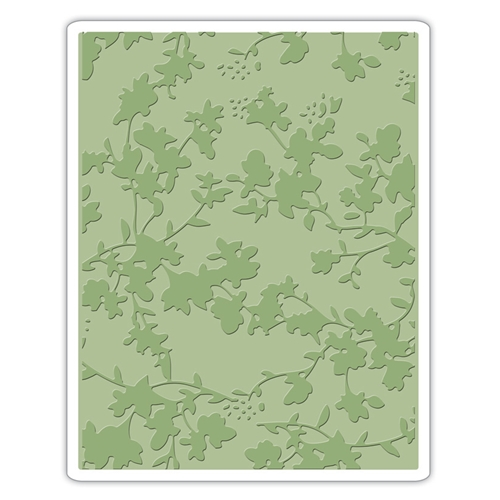 Tim Holtz Sizzix FLORAL Texture Fades Embossing Folder 661821 Preview Image