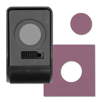 RESERVE Tim Holtz Sizzix LARGE CIRCLE 1 INCH Paper Punch 661853
