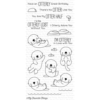 My Favorite Things OTTERLY LOVE YOU Clear Stamps BB42
