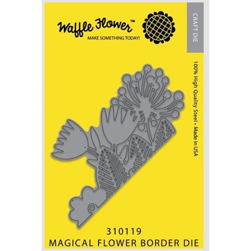 Waffle Flower MAGIC FLOWER BORDER Die 310119 Preview Image