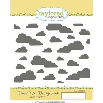 Taylored Expressions CLOUD NINE BACKGROUND Cling Stamp TEBB15