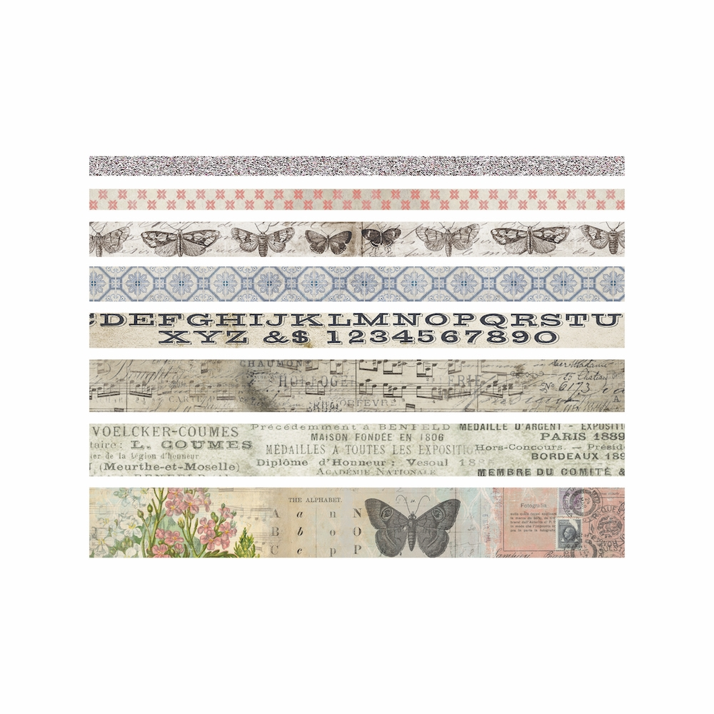 Tim Holtz Idea-ology BUTTERFLY Design Tape Paperie TH93356 zoom image