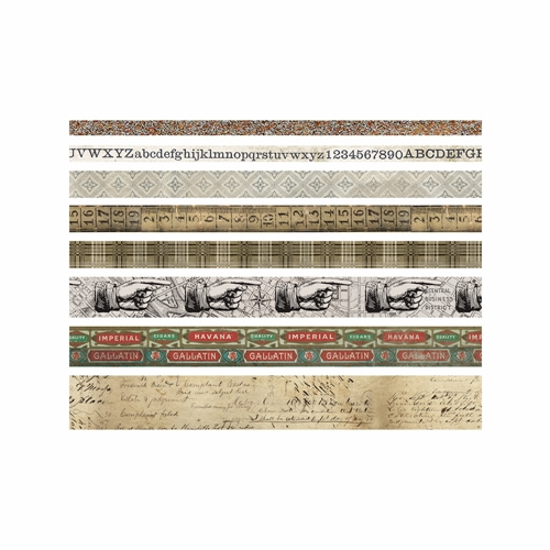 Tim Holtz Idea-ology ARISTOCRAT Design Tape Paperie TH93359 Preview Image