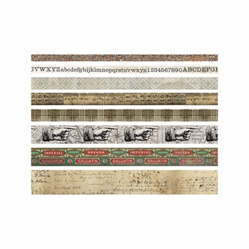Tim Holtz Idea-ology ARISTOCRAT Design Tape Paperie TH93359