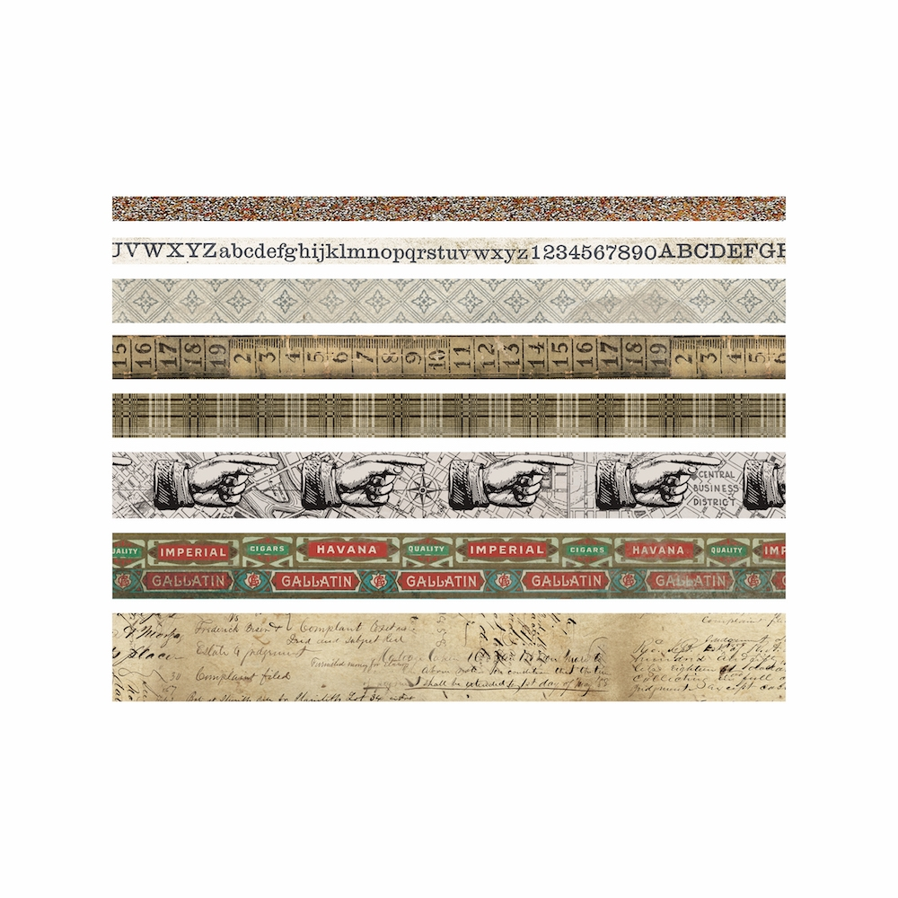 Tim Holtz Idea-ology ARISTOCRAT Design Tape Paperie TH93359 zoom image