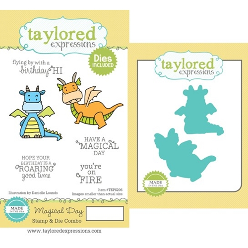 Taylored Expressions MAGICAL DAY Cling Stamp and Die Combo TEPS206 Preview Image