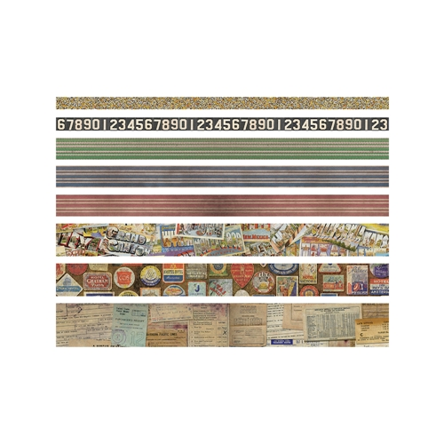 Tim Holtz Idea-ology TRAVEL Design Tape Paperie TH93352 Preview Image