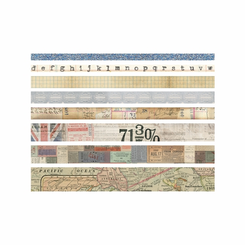 Tim Holtz Idea-ology JOURNEY Design Tape Paperie TH93358 Preview Image
