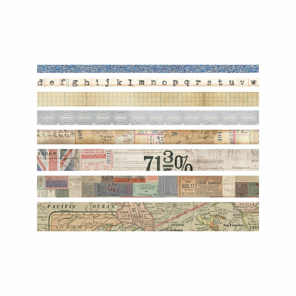 Tim Holtz Idea-ology JOURNEY Design Tape Paperie TH93358 zoom image