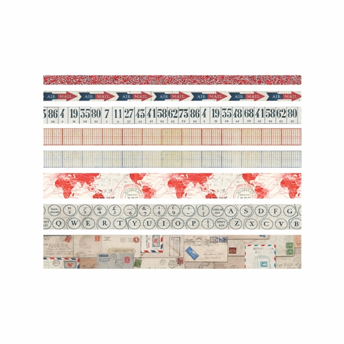 Tim Holtz Idea-ology POSTAL Design Tape Paperie TH93357 Preview Image
