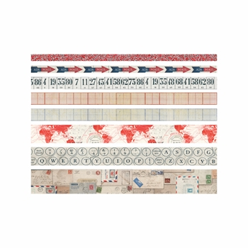 Tim Holtz Idea-ology POSTAL Design Tape Paperie TH93357