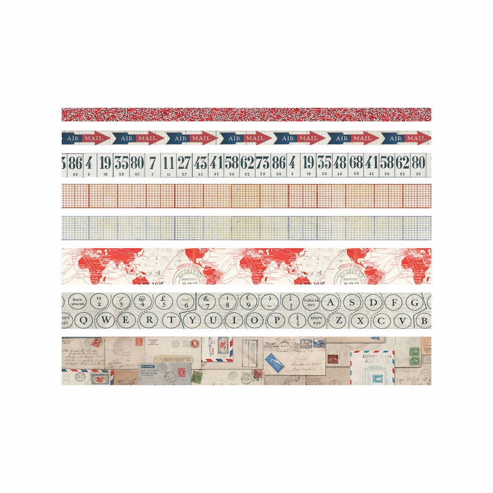 Tim Holtz Idea-ology POSTAL Design Tape Paperie TH93357 zoom image