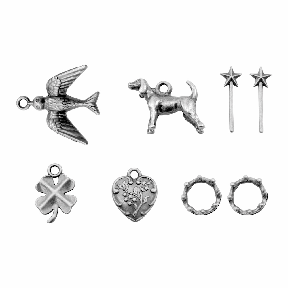 Tim Holtz Idea-ology TREASURES ADORNMENTS Findings TH93572 zoom image