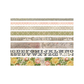 Tim Holtz Idea-ology ROSE Design Tape Paperie TH93354