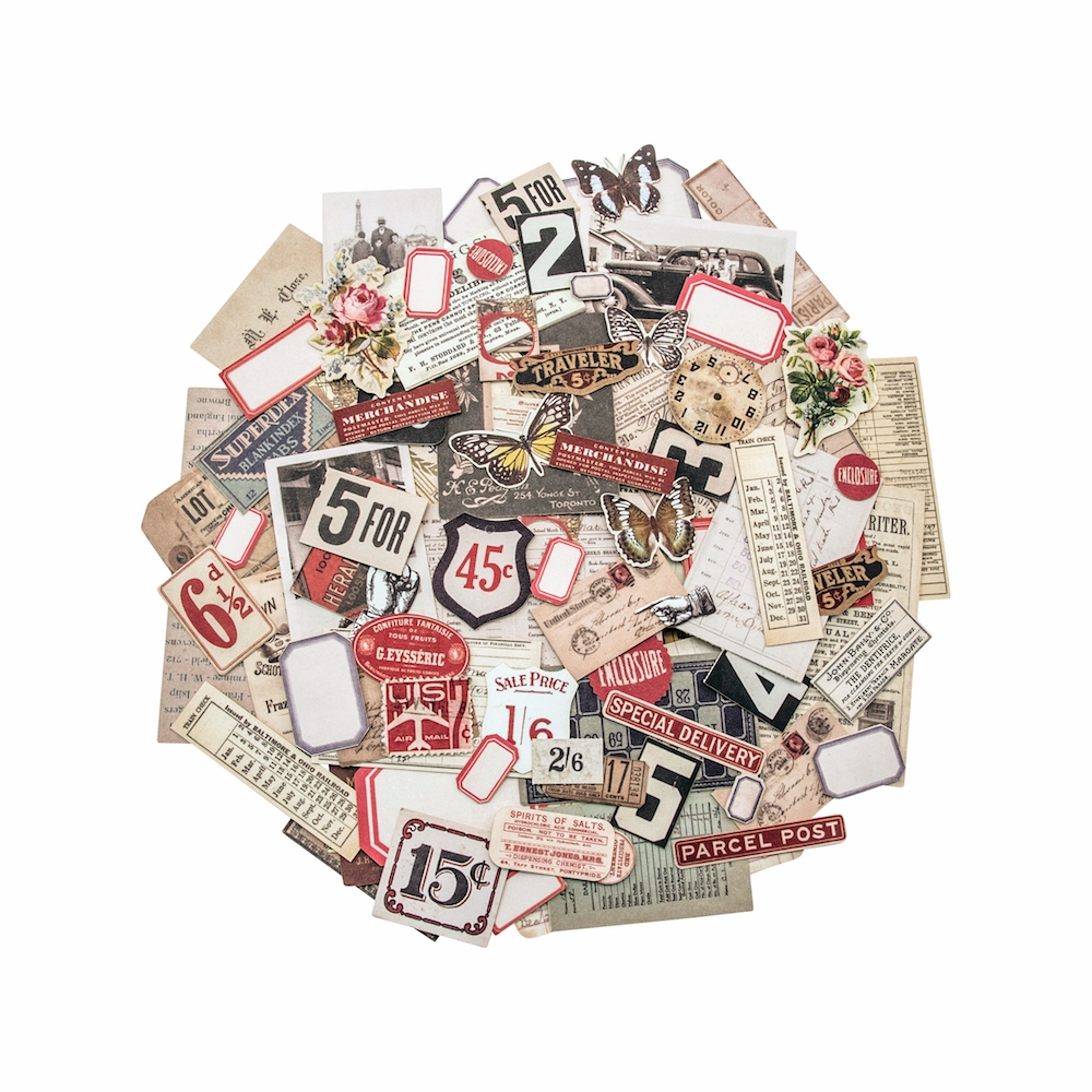 Tim Holtz Idea-ology SNIPPETS Ephemera Paperie TH93564 zoom image