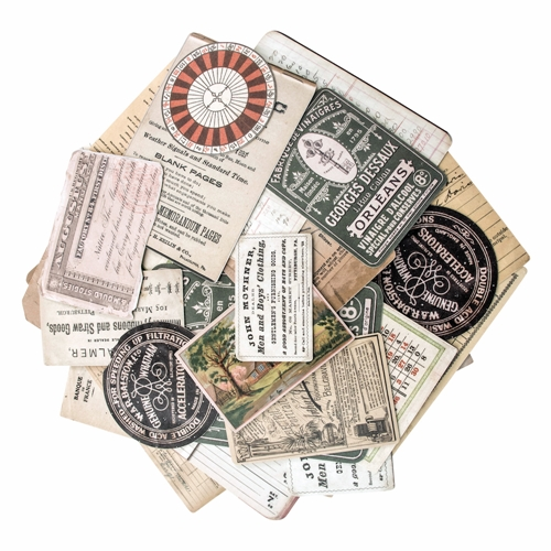 Tim Holtz Idea-ology COLLECTOR Ephemera Layers Paperie TH93553 Preview Image
