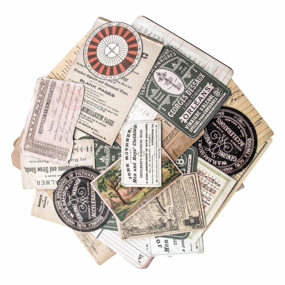 Tim Holtz Idea-ology COLLECTOR Ephemera Layers Paperie TH93553 zoom image