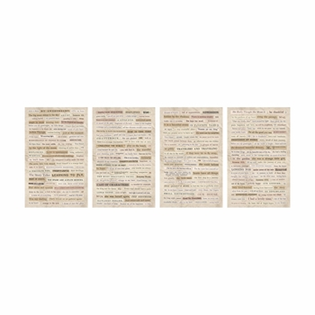 Tim Holtz Idea-ology CLIPPINGS Stickers Paperie TH93583