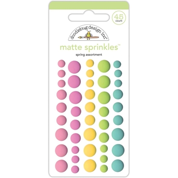 Doodlebug SPRING MATTE Things Sprinkles Assortment 5455