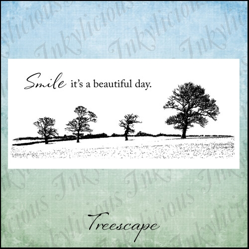 Inkylicious TREESCAPE Clear Stamps 829895 Preview Image
