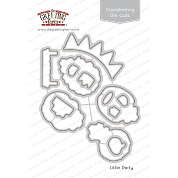 The Greeting Farm LITTLE PARTY Coordinating Die Cuts TGF289