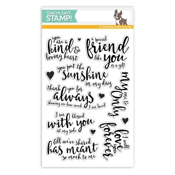 Simon Says Clear Stamps LOVING HEART SSS101718