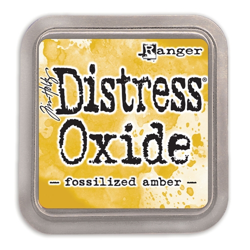 Fossilized Amber Distress Oxide Ink
