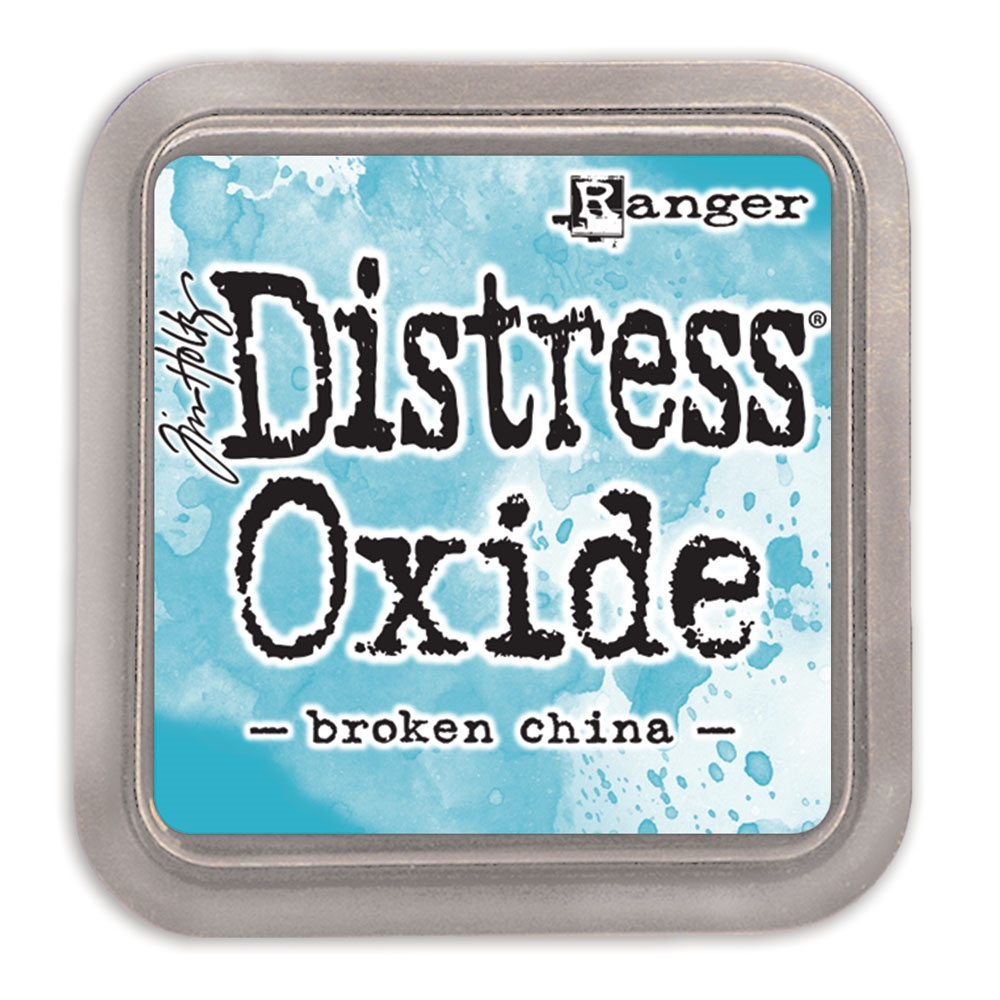 Tim Holtz Distress Oxide Ink Pad BROKEN CHINA Ranger TDO55846