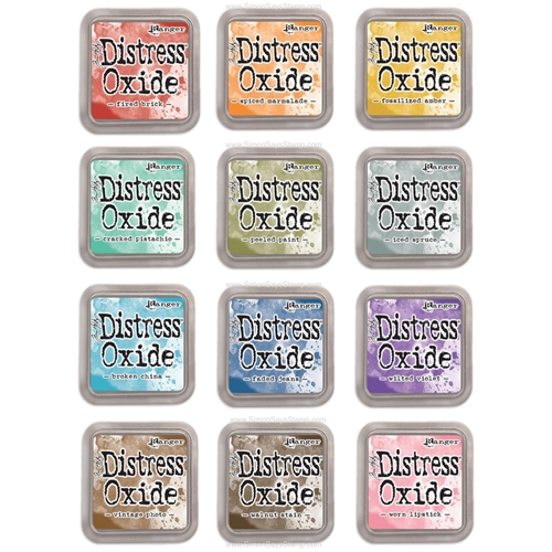 Distress Oxide Ink Pads Set of 12