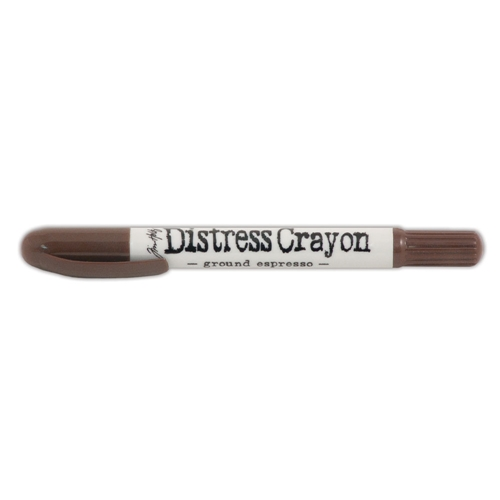 Ranger Tim Holtz Distress Crayon GROUND ESPRESSO TDB52043 Preview Image