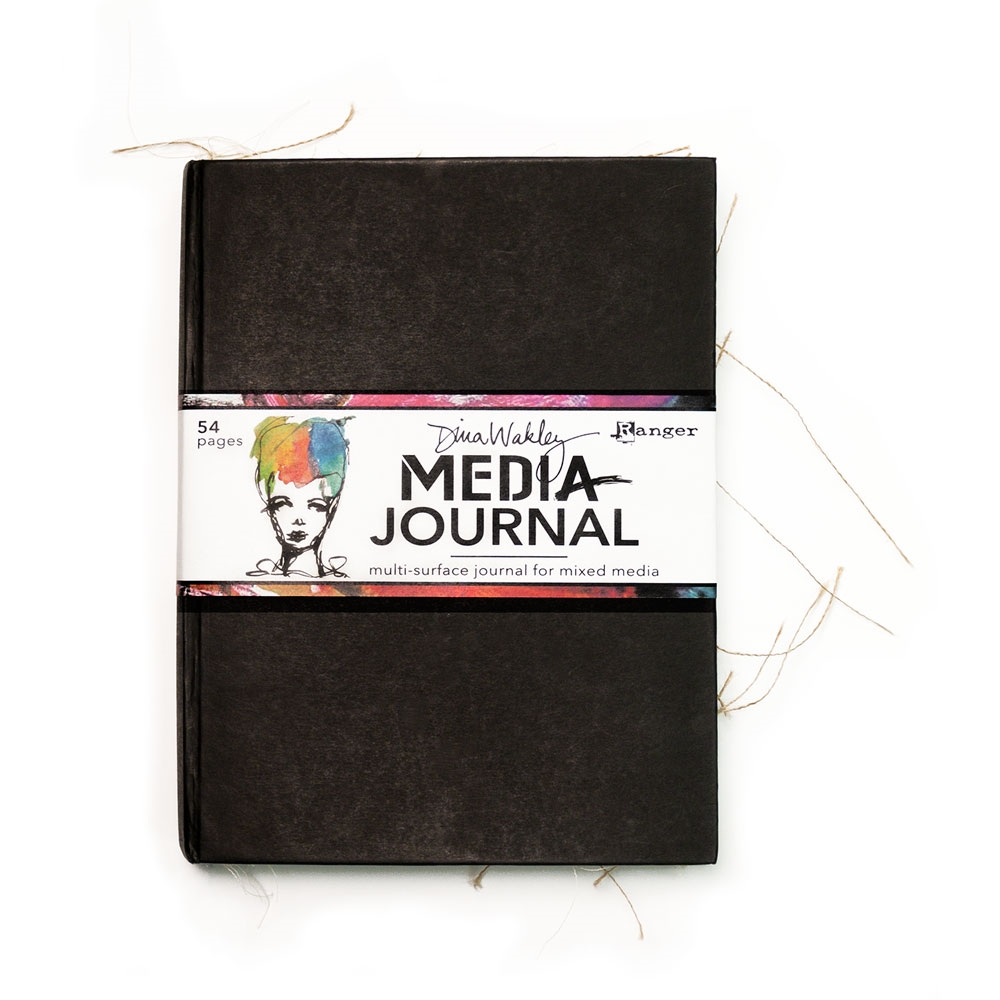 Dina Wakley Media Journal 8x10 inches