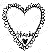 Impression Obsession Cling Stamp FROM THE BOTTOM B19337