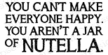 Impression Obsession Cling Stamp NUTELLA C14602