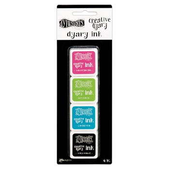 Ranger Dylusions CREATIVE DYARY INK PADS SET 1 Dyan Reaveley DYE57499