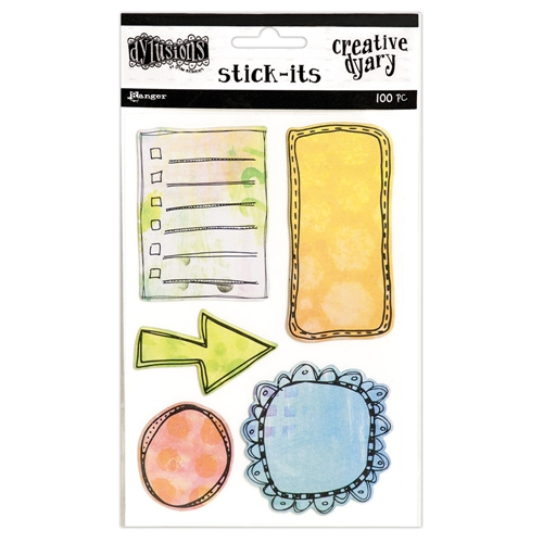 Ranger Dylusions CREATIVE DYARY STICK ITS Dyan Reaveley DYE56683 Preview Image