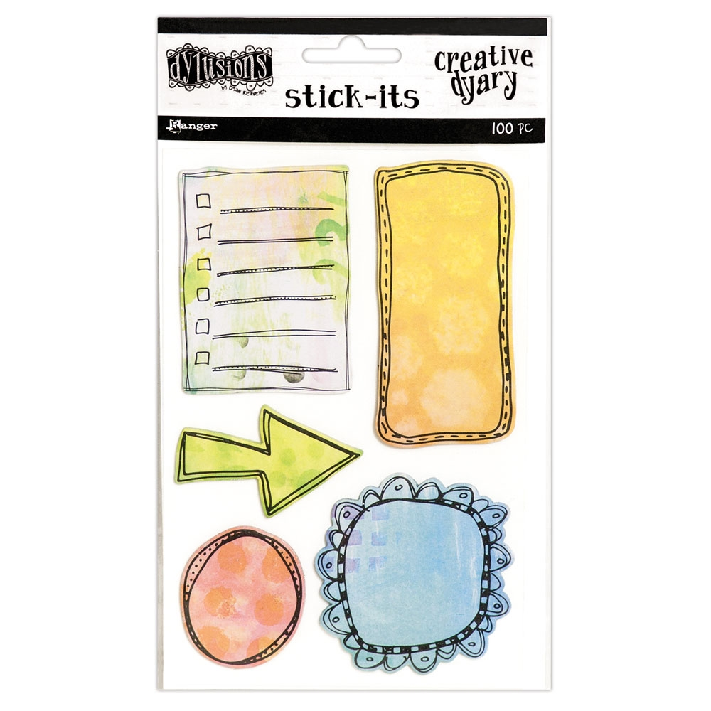 Ranger Dylusions CREATIVE DYARY STICK ITS Dyan Reaveley DYE56683 zoom image